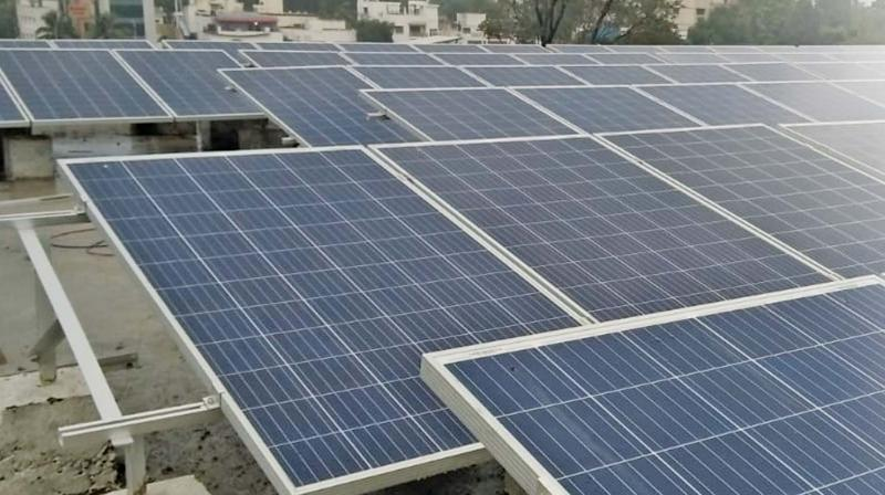 Chennai: Only a few independent houses have rooftop solar panels in city