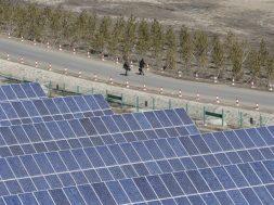 China's 2018 renewable power capacity up 12 percent.