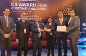 Vikram Solar bags the CII Award for Customer Obsession -2018