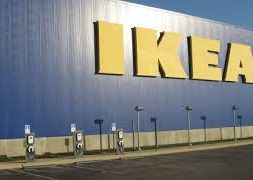 Future IKEA Norfolk to be equipped with Hampton Roads' largest solar rooftop array and EV charging stations.