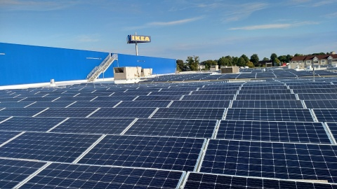 Future IKEA Norfolk to be equipped with Hampton Roads' largest solar rooftop array and EV charging stations
