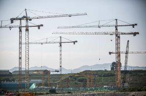 Views of The Construction Site Of Korea Hydro & Nuclear Power Co. Nuclear Power Plants