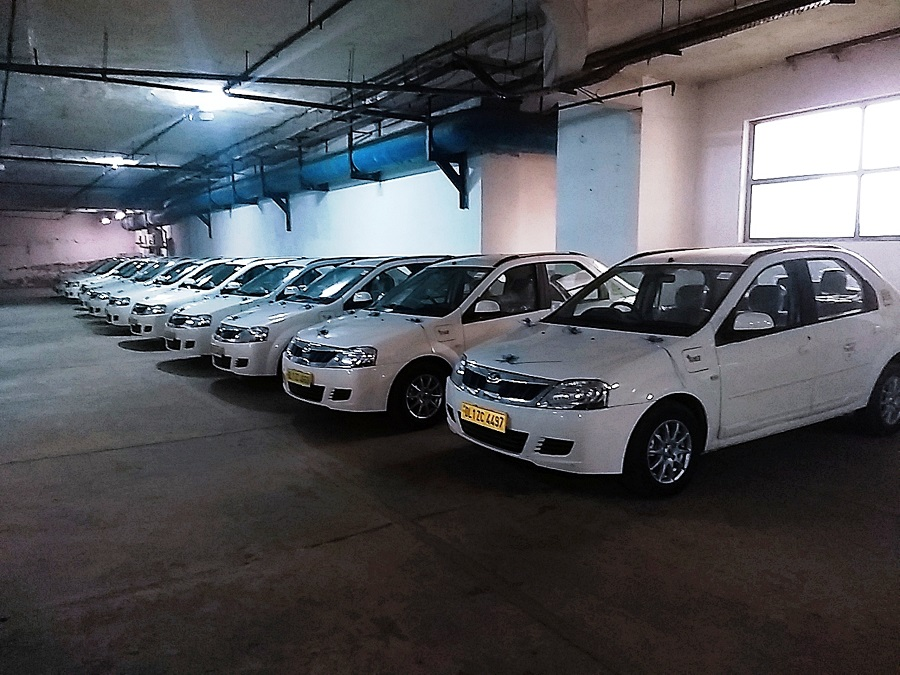 India's first last-mile electric cab fleet starts operation in NCR