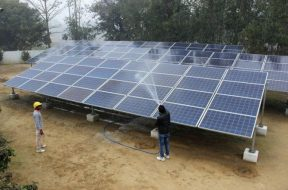 Minister promises Rs 27 crore for solar plant at GMCH