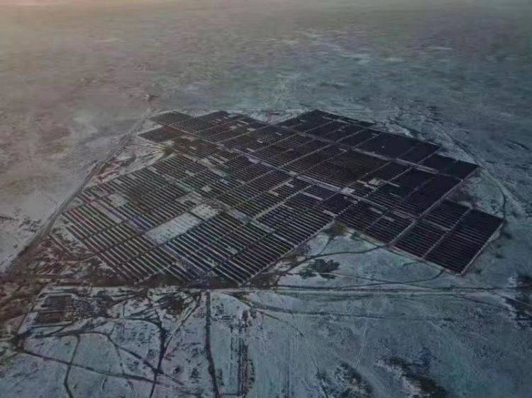 Risen Energy's 40MW photovoltaic power station project in Kazakhstan connects to the grid