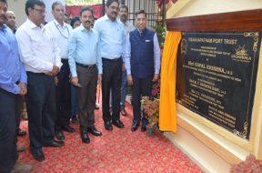 Shipping Secretary inaugurates solar plant at Sports Complex of Visakhapatnam