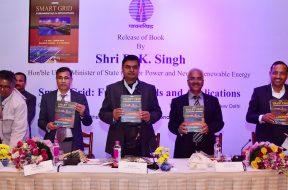 Shri R.K. Singh, Minister for Power Released a Book on Smart Grid