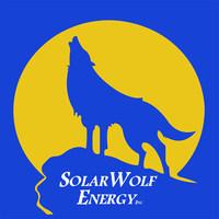 Solar Wolf Energy Logo