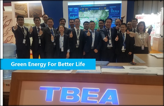 TBEA showcased technology capabilities at the Abu Dhabi WFES & Solar Expo 2019