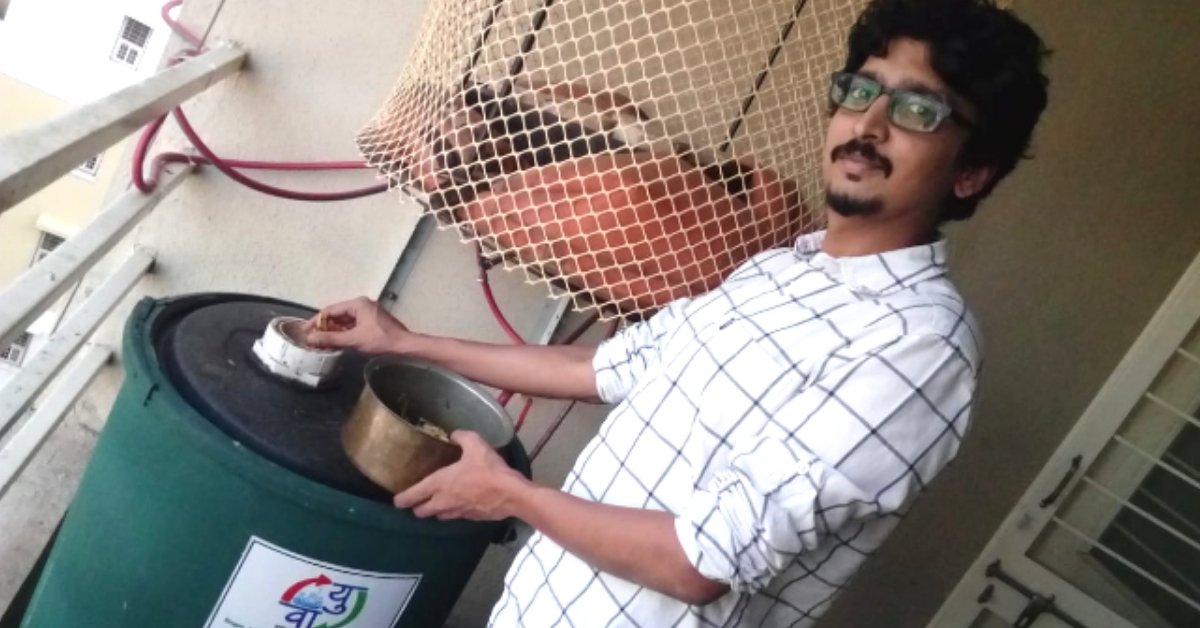 With the Garbage of His Neighbours, Pune Engineer Produces 700 Litres of Biofuel
