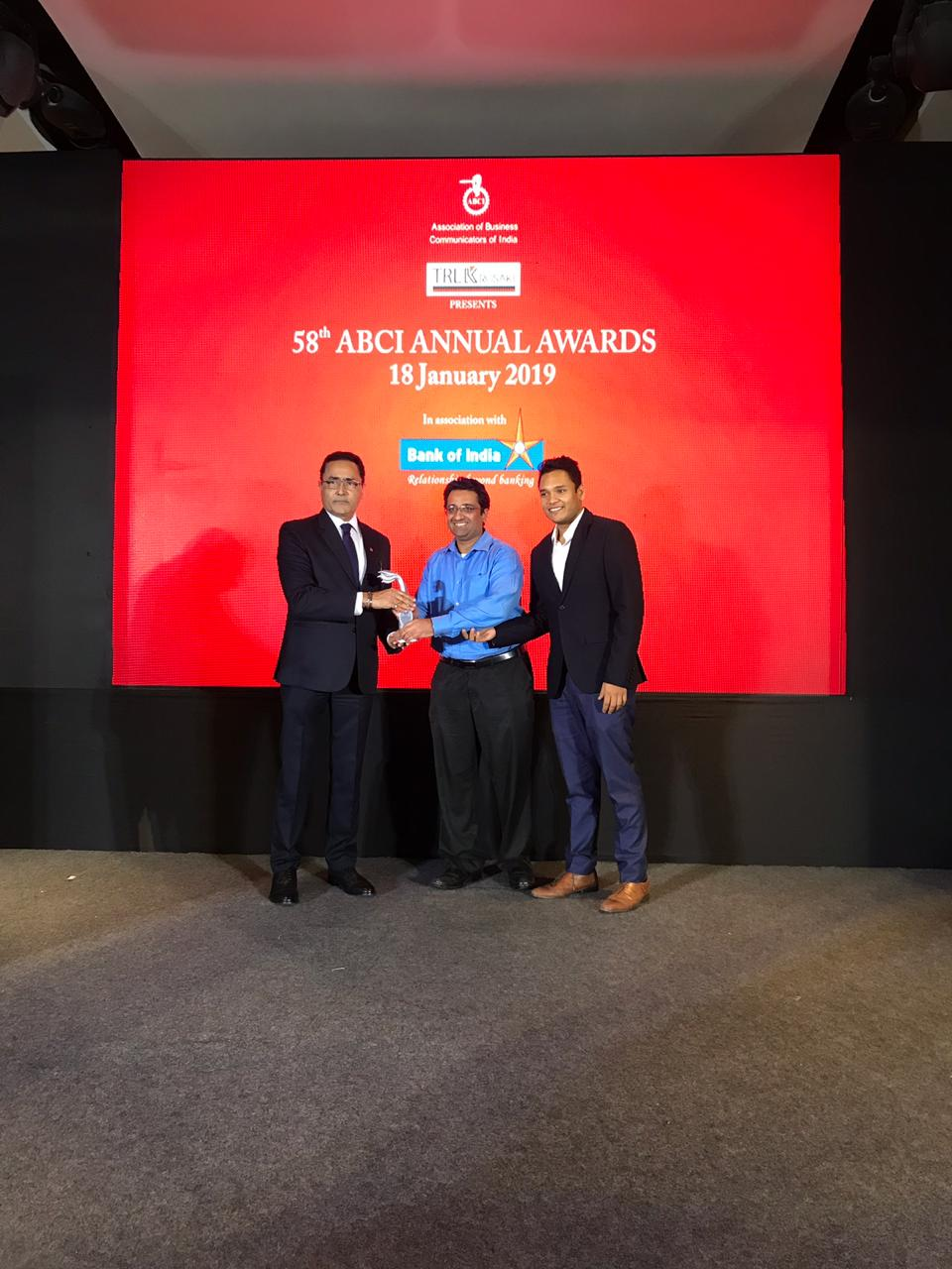 Tata Power bags two awards at the 58th Annual Association of Business Communicators of India Awards