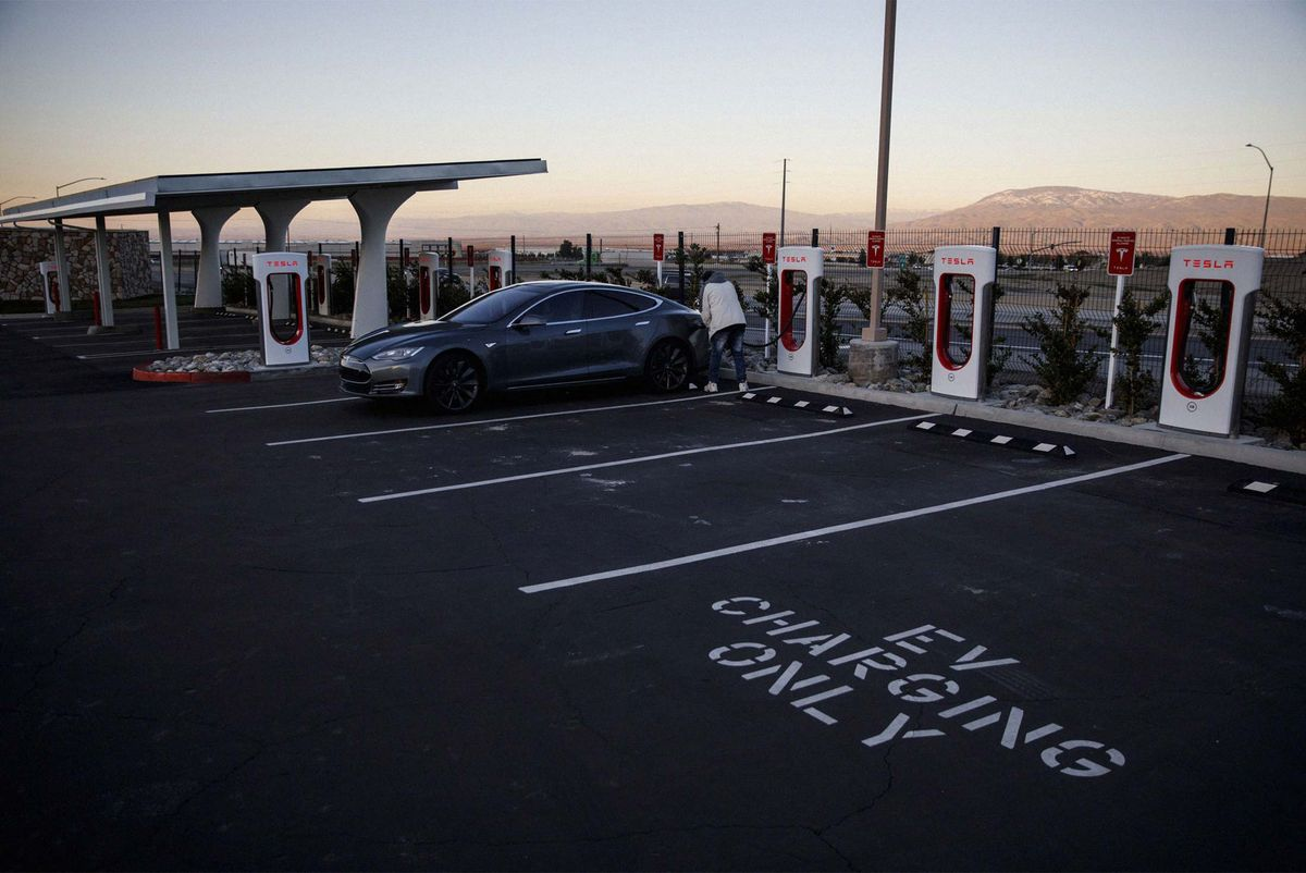 No One Else Built Charging Stations, So Automakers Will Do It