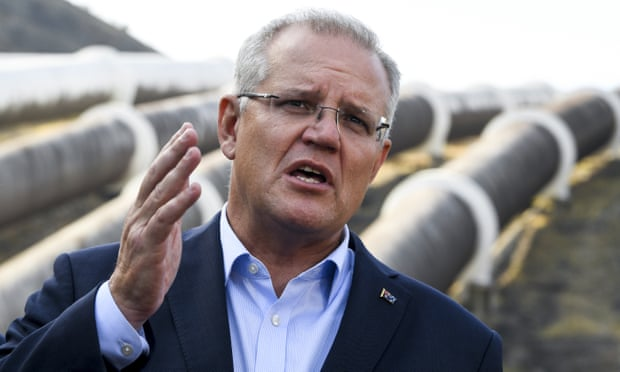 Scott Morrison heads to Tasmania to support 'battery of the nation' plan