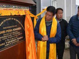 Arunachal- Khandu inaugurates 50 kw solar power Plant in Tawang
