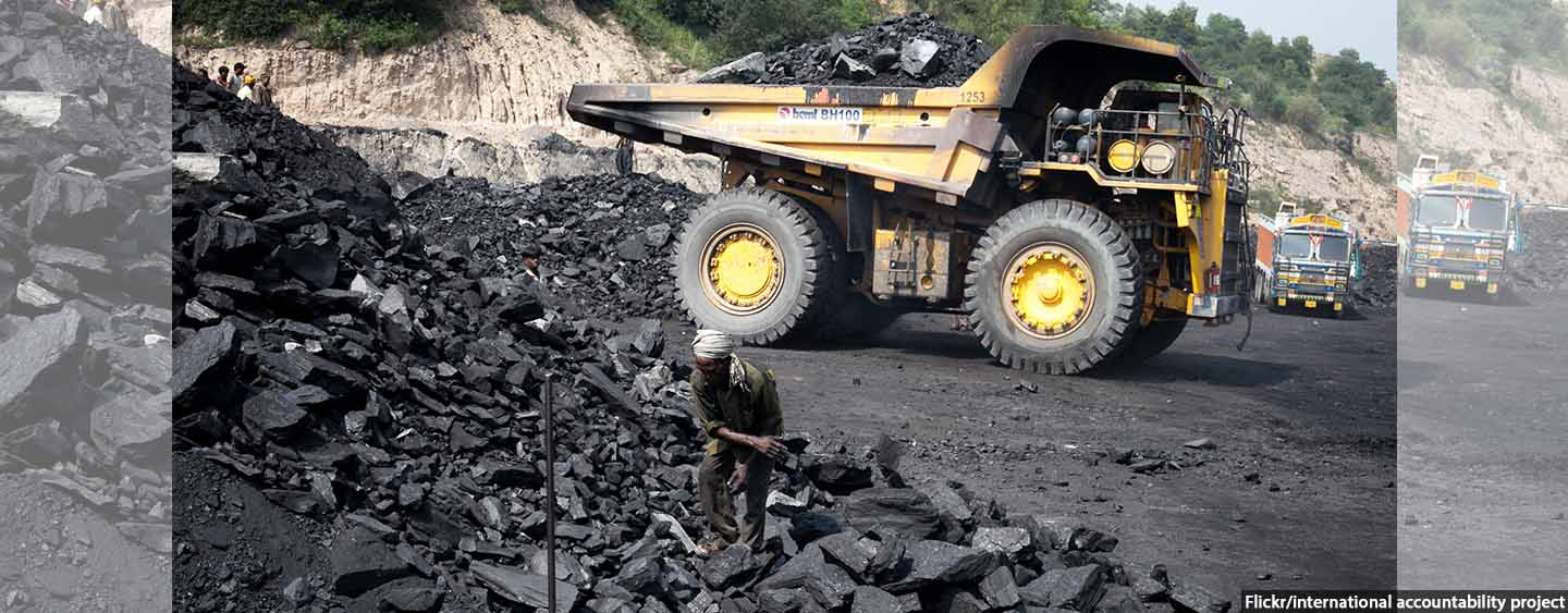 Government Subsidies For Coal Nearly 400 Times More Than Environment Ministry Budget
