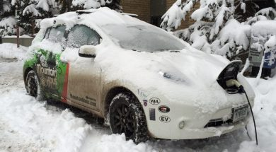 Cold Weather Wreaks Havoc with Batteries in Electric Vehicles, Says AAA