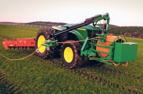 Deere's new electric tractor tosses the battery