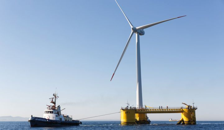 ARPA-E Commits $28 Million to Develop Advanced Floating Offshore Wind Turbines