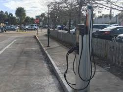 Free electric vehicle charger placed in St. Augustine, more planned