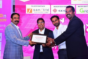 Godrej Electricals & Electronics wins the award for `Rooftop