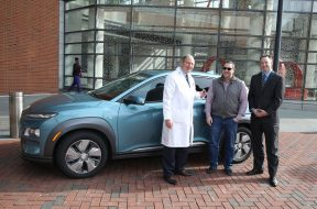 Hyundai Delivers First 2019 Kona Electric in Baltimore, Maryland