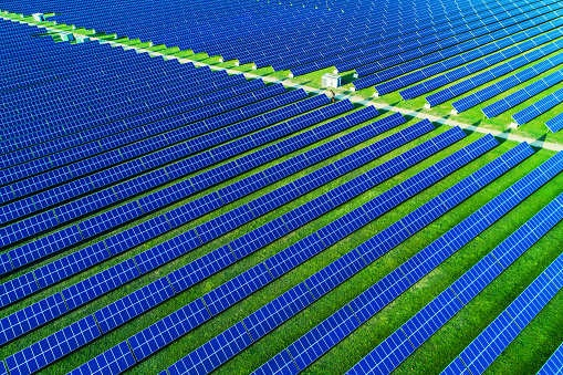 India's utility-scale solar power capacity addition slumped 46 per cent last quarter