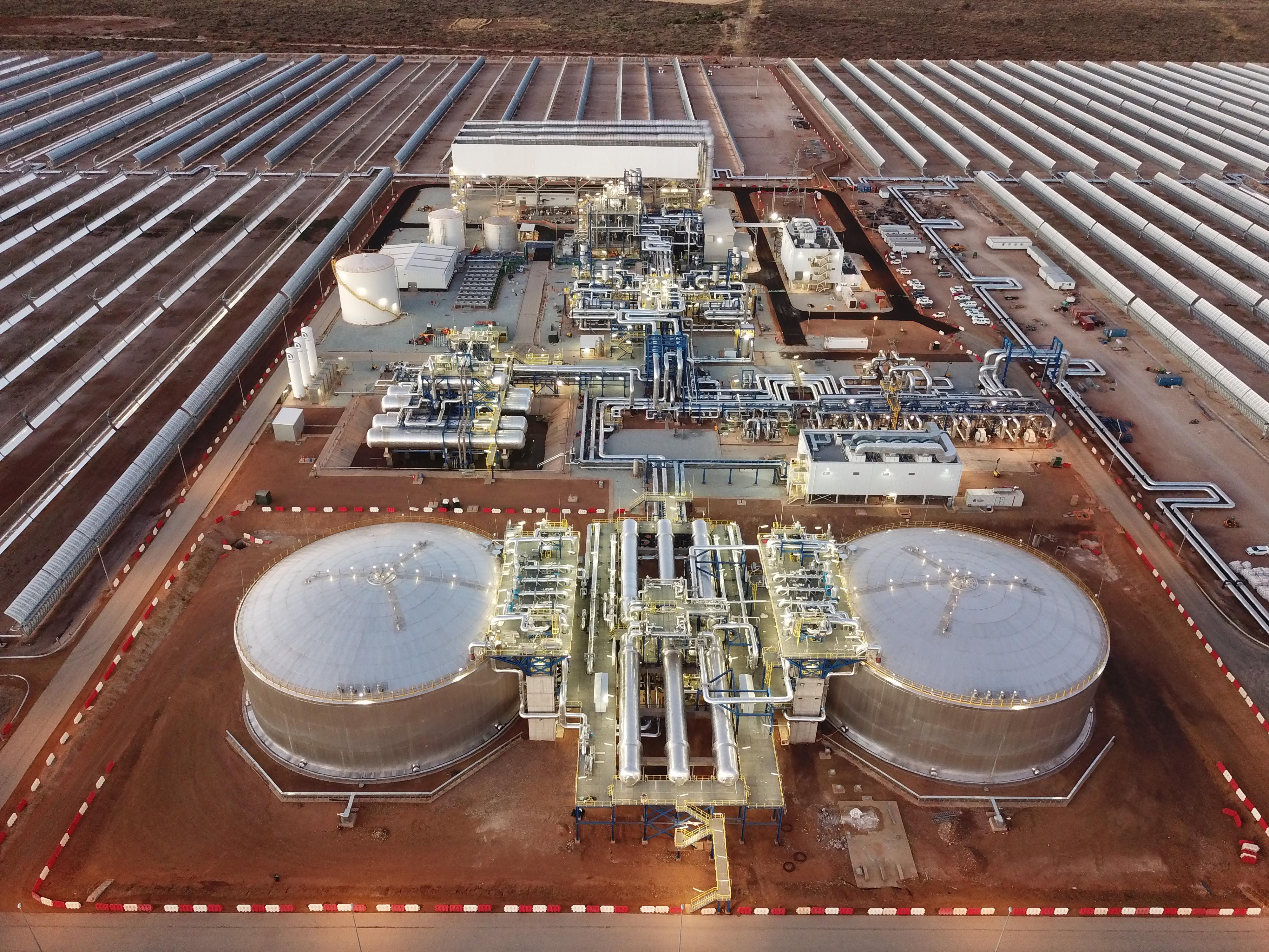Kathu Solar Park constructed by SENER and ACCIONA enters commercial operation