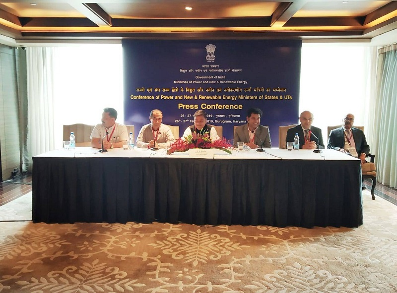 Power Minister R.K Singh launches energy efficiency label for residential buildings