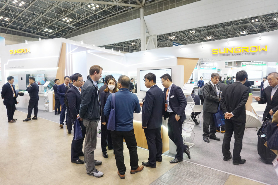 Sungrow Presents New PV Inverters and Storage Systems at the 9th Smart Grid Expo in Tokyo
