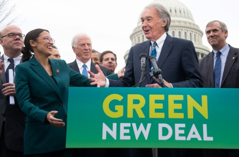US Democrats unveil carbon-neutral 'Green New Deal'