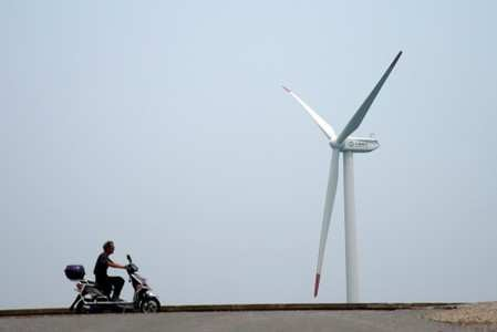 Suzlon shares pare losses after 43% plunge on firm's clarification