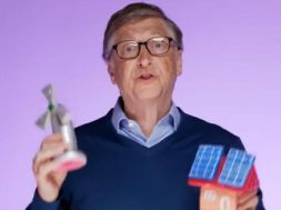 Watch Bill Gates explains the challenges of climate change using toys. Will more people listen now