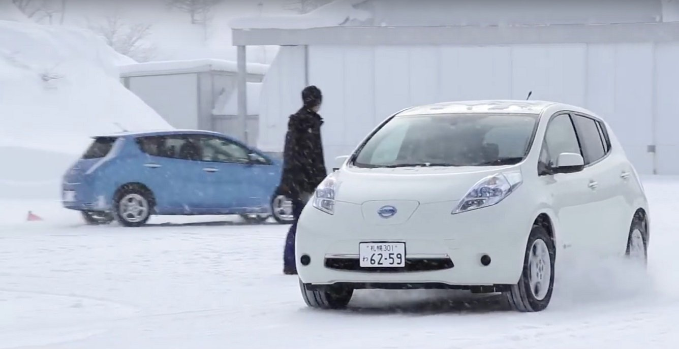 Why Electric Vehicles Are Great Winter Cars