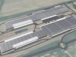 Audi Hungaria builds solar energy park on logistics centres' roofs