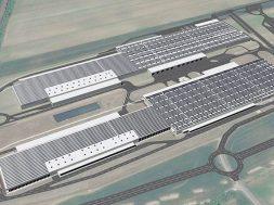 Audi Hungaria builds solar energy park on logistics centres' roofs