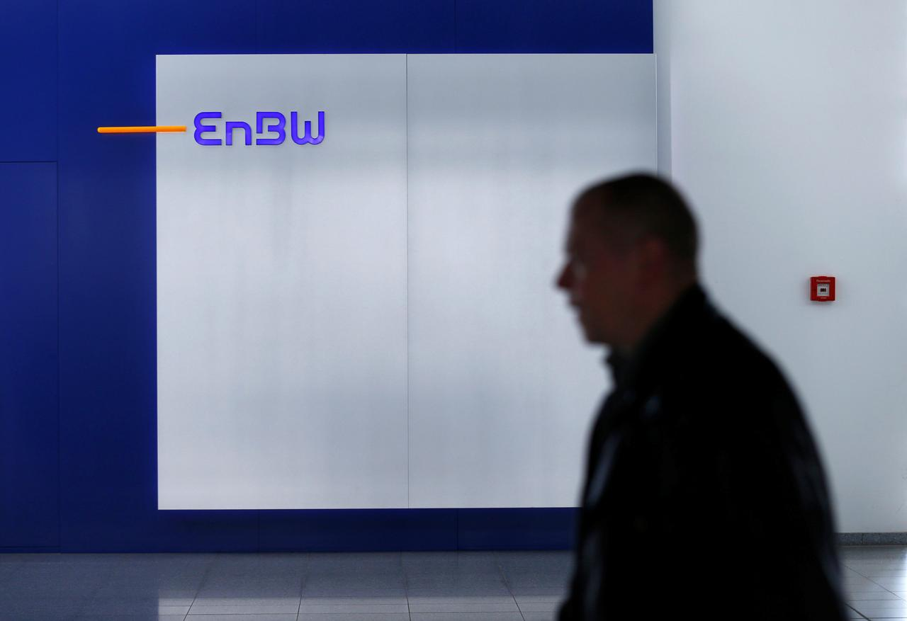 German utility EnBW to expand trading, solar business: CFO