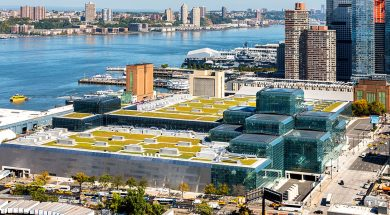 Jacob K Javits Convention Center, Green Roof