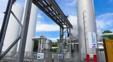 Highview Power and TSK Enter Joint Venture to Develop Cryogenic Energy Storage Projects