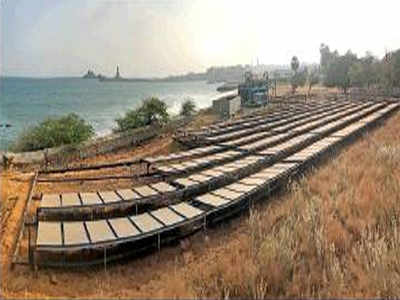 IIT-M sets up India's 1st solar-powered desal plant
