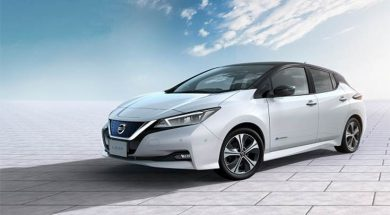 Nissan sells 400,000 Leaf electric cars globally