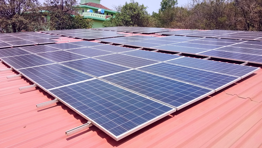 Orb Energy completes the first grid connected rooftop solar system in Goa for Gomantak Ayurved Mahavidyalaya institute