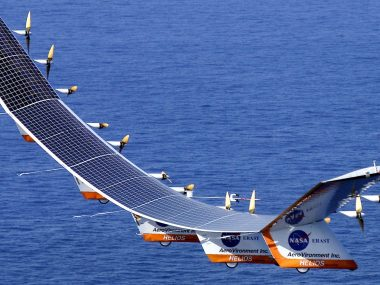 This All-Electric Solar-Powered Drone Will Beam 5G Internet From 20 Km Above Earth Very Soon