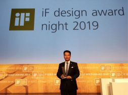 Xie Tao Receives iF Design Award on Behalf of Hanergy