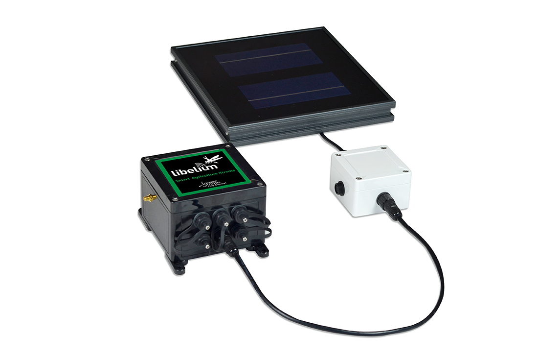 Libelium and SmartDataSystem present solar panel monitoring kits that control photovoltaic plants performance with IoT technology