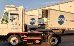 Dot Transportation, Inc. Deploys Orange EV Electric Yard Truck at California Distribution Center