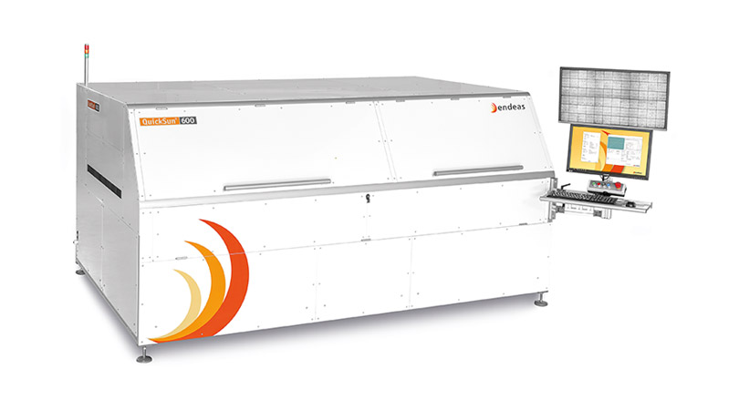 Endeas delivers QuickSun all-in-one PV module testing stations for major HJT module factory