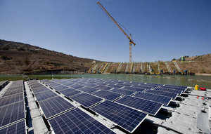 German help for South Asia's biggest floating solar power plant in West Bengal