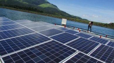 Greenam Energy lays foundation for floating solar power plant