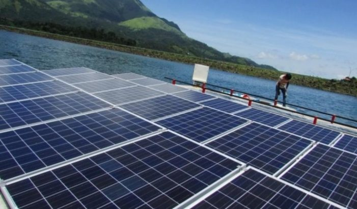 Greenam Energy lays foundation for floating solar power plant