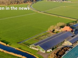 GroenLeven is developing one of the largest floating solar parks at Kremer Zand and Grind